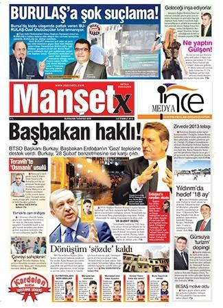 Mansetx Gazetesi 1.Sayı