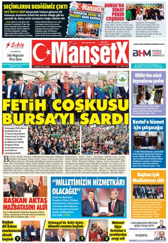 Mansetx gazetesi 280. sayı çıktı