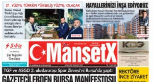 MANŞETX GAZETESİ 286. SAYISI ÇIKTI