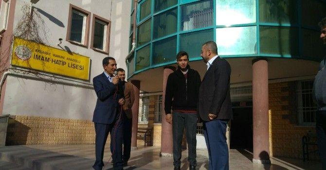 Aksaray'da İmam Hatipler Arası Hutbe Yarışması Yapıldı