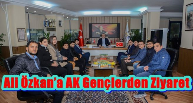 Ali Özkan'a AK Gençlerden Ziyaret
