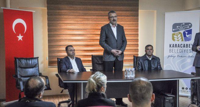 Ali Özkan'dan 45 Yıllık Şoförlere Plaket