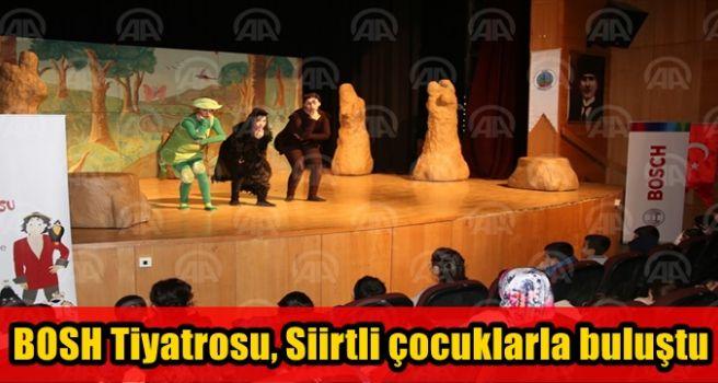 Çevre Çocuk Tiyatrosu, Siirtli çocuklarla buluştu