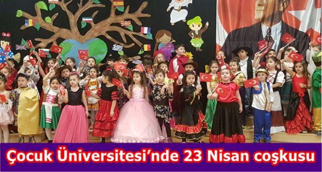 Çocuk Üniversitesi'nde 23 Nisan coşkusu