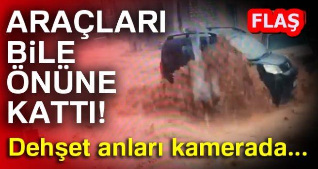 DEHŞET ANLARI KAMERADA!