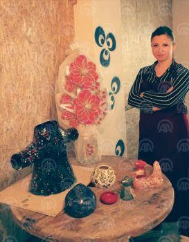 Demirköy'de seramik sanat atölyesi açıldı