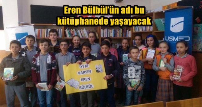 Eren Bülbül'ün adı bu kütüphanede yaşayacak