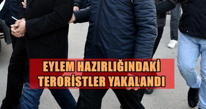Eylem Hazırlığındaki Terorisler Yakalandı