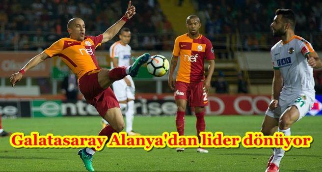 Galatasaray Alanya'dan lider dönüyor
