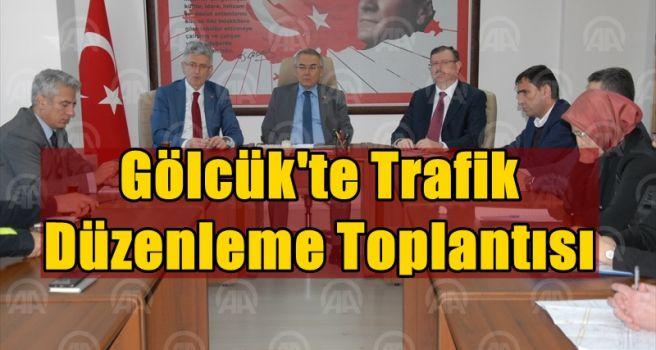 Gölcük'te trafik düzenleme toplantısı