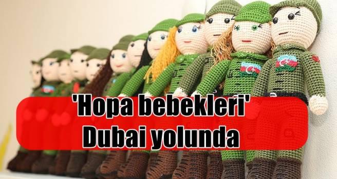 'Hopa bebekleri' Dubai yolunda