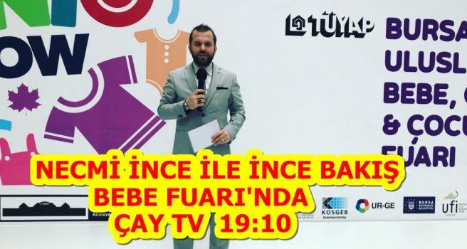 İNCE BAKIŞ BEBE FUARI'NDA!