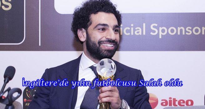 İngiltere'de yılın futbolcusu Salah oldu