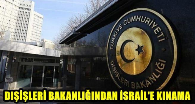İSRAİL' E KINAMA