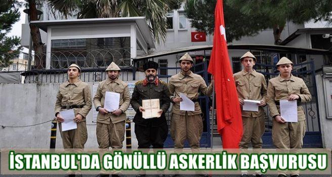 İstanbul'da gönüllü askerlik başvurusu