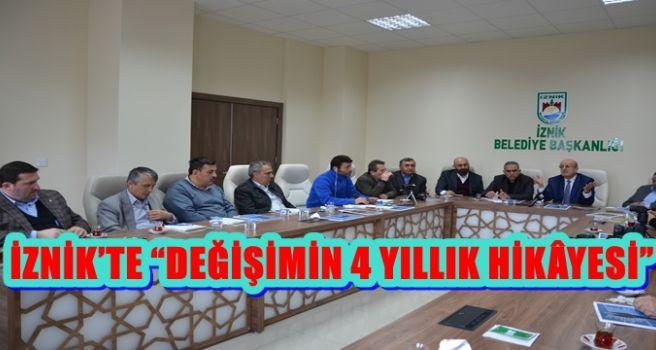 """İZNİK'TE """"DEĞİŞİMİN 4 YILLIK HİKÂYESİ"""""""