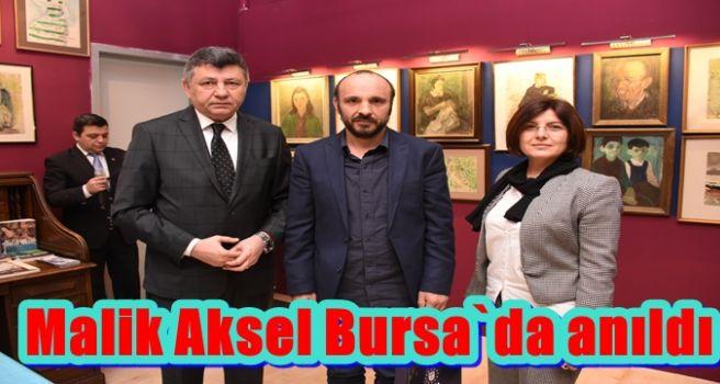 Malik Aksel Bursa`da anıldı