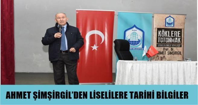 Prof. Dr. Ahmet Şimşirgil'i lise öğrencileri ile buluşuyor