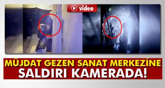Saldırı Kameralara Takıldı!