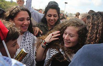 Filistinli cesur kız Temimi serbest bırakıldı