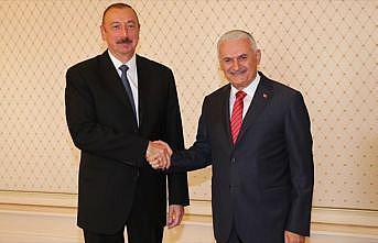 Aliyev, TBMM Başkanı Yıldırım'ı kabul etti