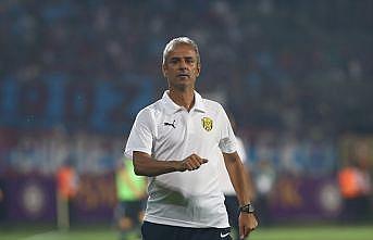 MKE Ankaragücü Teknik Direktörü Kartal: Geriye de düşsek maçı ve oyunu bırakmıyoruz