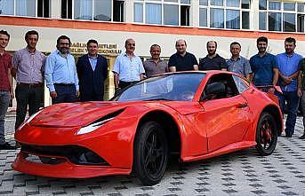 Üniversiteden yüzde 95'i yerli üretim elektrikli otomobil