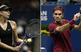 Federer ve Sharapova'dan ABD Açık'a erken veda