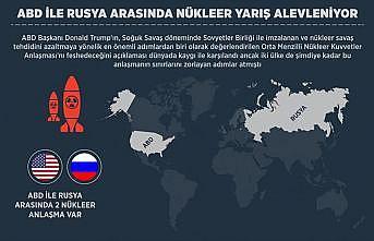 ABD ile Rusya arasında nükleer yarış alevleniyor