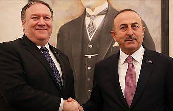 Dışişleri Bakanı Çavuşoğlu ABD'li mevkidaşıyla görüştü