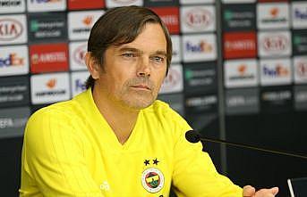 Fenerbahçe Teknik Direktörü Phillip Cocu: Çok kaliteli bir takımla karşılaşacağız