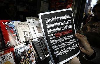 New York'ta 'sahte haber' standı açıldı