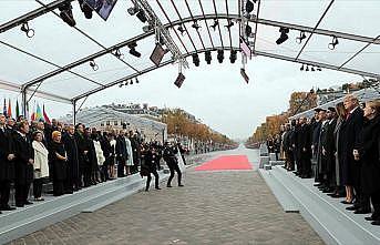 Dünya liderleri Birinci Dünya Savaşı anma töreninde buluştu