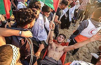 Filistinli genç Aid Ebu Amr: Yaralarım direniş irademi kırmadı