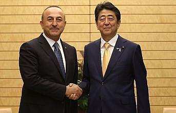 Japonya Başbakanı Abe: Türkiye ile ilişkileri her alanda ilerletmek istiyoruz
