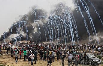 Filistinli aktivist İbrahim: İsrail Gazze sınırında terör estiriyor