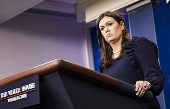 Beyaz Saray Sözcüsü Sanders: Suriye'de DEAŞ'ın elinde hiç toprak parçası kalmadı