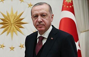 Cumhurbaşkanı Erdoğan'dan AA'ya geçmiş olsun dileği