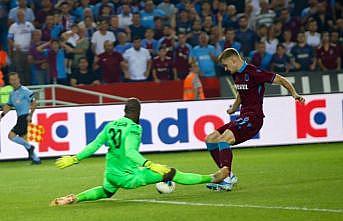 Trabzonspor sezonun ilk galibiyetini aldı