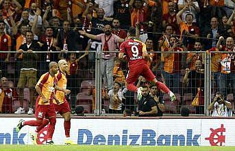 Falcao ilk maçında golünü attı Galatasaray kazandı