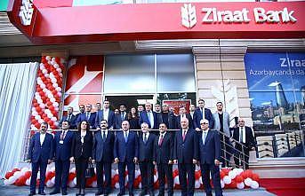 Çavuşoğlu, Ziraat Bank Azerbaycan'ın 4. şubesini açtı