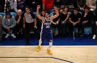 NBA'de Furkan Korkmazlı Philadelphia, Ersan İlyasovalı Bucks'ı mağlup etti