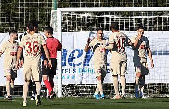 Galatasaray hazırlık maçında Altay'ı mağlup etti
