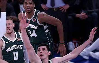 NBA'de Bucks Timberwolves'u yenerek üst üste 4. galibiyetini aldı