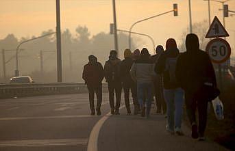 Edirne'de düzensiz göçmen hareketliliği arttı