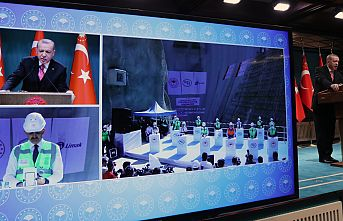 """Cumhurbaşkanı Erdoğan: """"Yusufeli Barajı ekonomimize yılda 1,5 milyar lira katkı sağlayacak"""""""