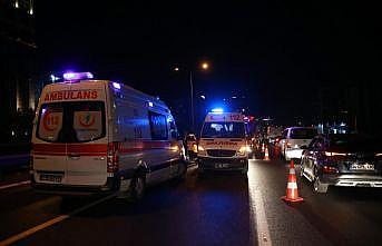 İstanbul'da trafik kazası: 1 ölü, 2 yaralı