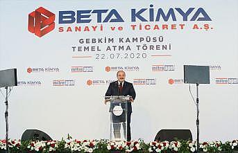 Bakan Varank, Beta Kimya AŞ GEBKİM Kampüsü'nün temel atma törenine katıldı: (2)