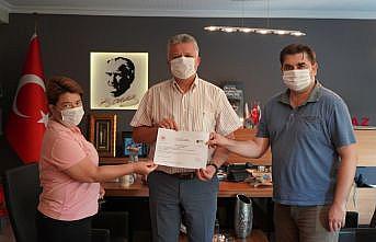 Lüleburgaz Belediyesi'ne sıfır atık belgesi