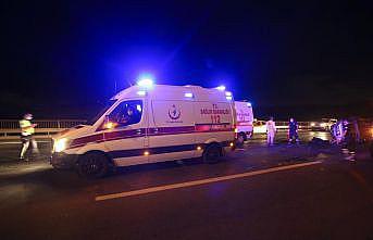 Eyüpsultan'da trafik kazası: 3 yaralı
